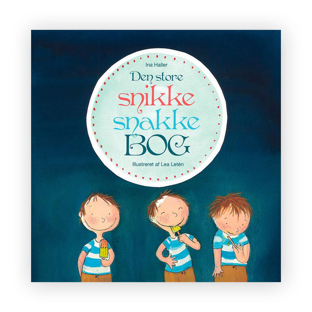 den store snakke snakke bog med Ronja og Pelle. Køb hos www.ciha.dk