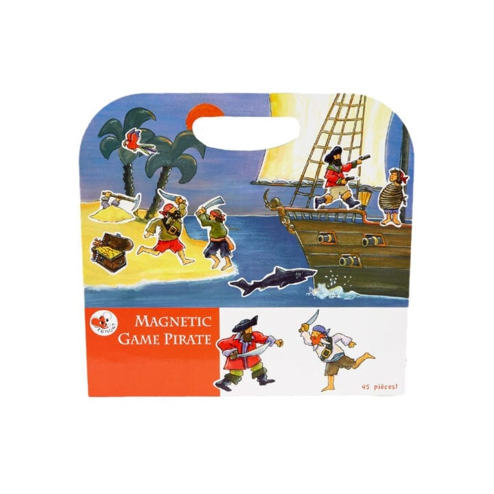 Magnetbog pirat