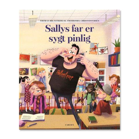 Sallys far er vildt pinlig