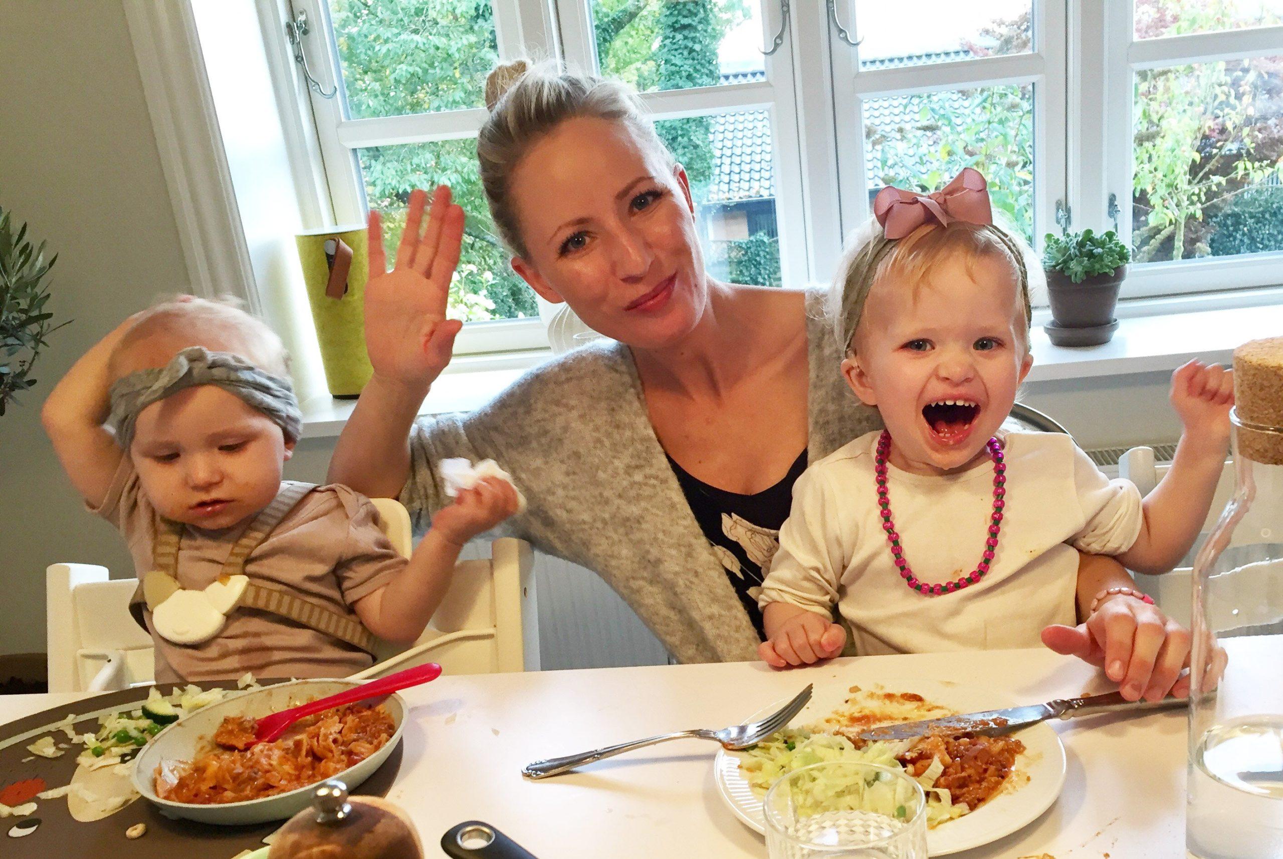 cochlear implants, aftensmad, sprog under maden, sprog til middag