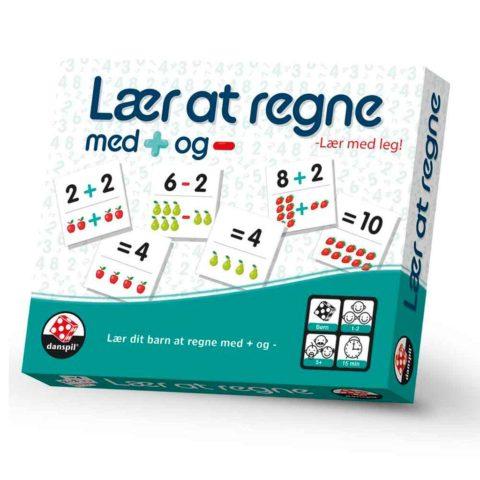 Lære at regne med + og - .. Lærerige spil hos ciha.dk