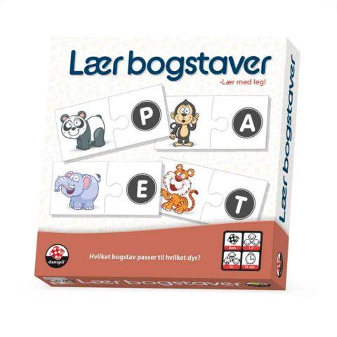Lær bogstaver - Leg og lær!