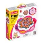 pixel mandala, pixel, mosaik, mosaikplade, kreativitet, fordybelse, mønster, mandala, ciha, cihawebshop