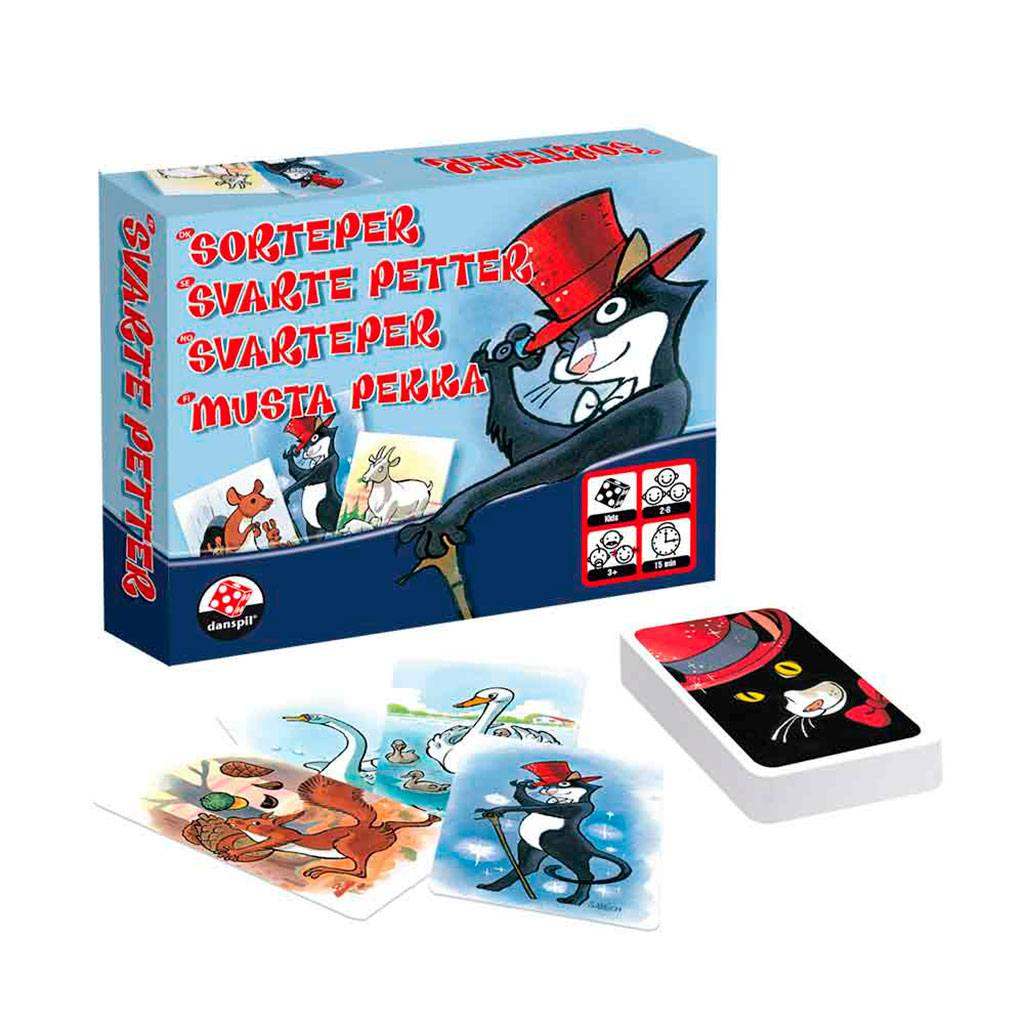 Sorteper klassisk kortspil fra 3+ år.