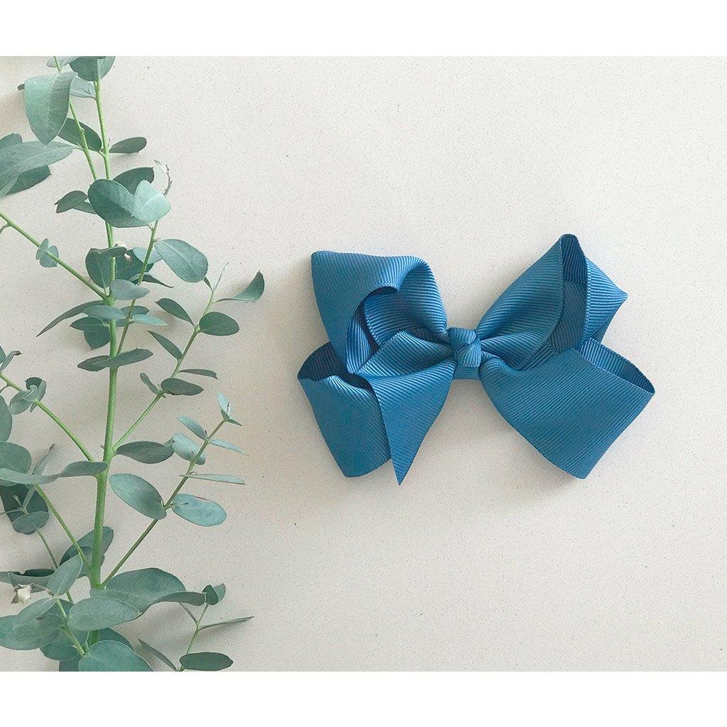 Image of Antique blue 10 cm bow