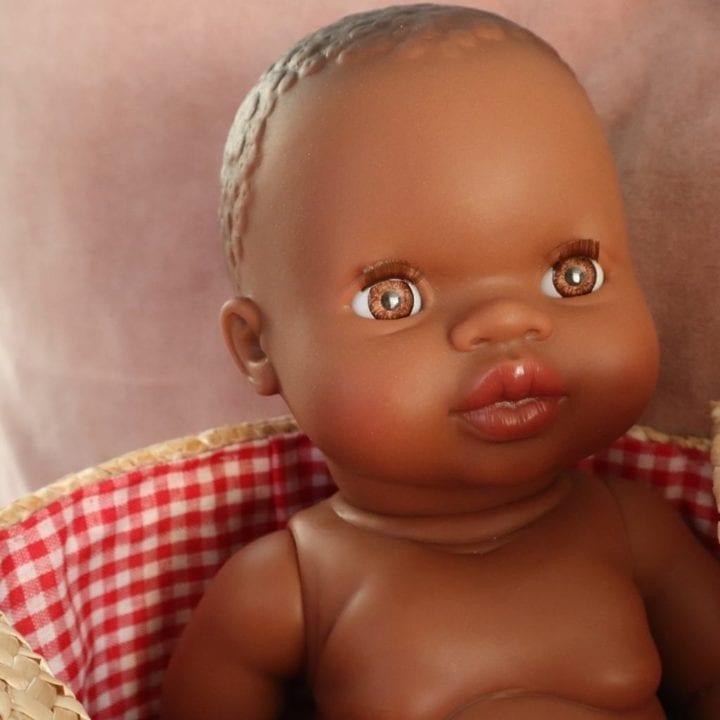 Fordi baby dukke mørk pige