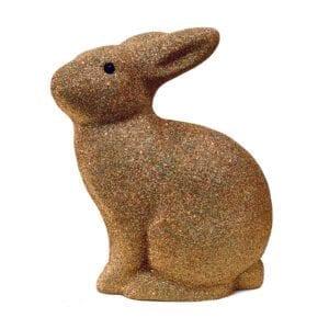 Guld glimmer kanin lampe