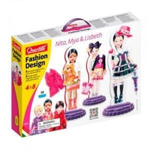 Fashion design påklædningsdukker