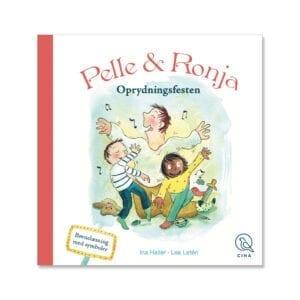 Oprydningsfesten er en børnebog med billedesymboler der stimulerer læselysten og evnen til at lære at læse.
