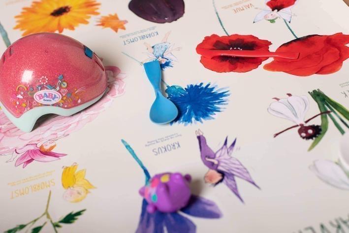 blomster og farver plakat