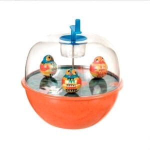 musik uro med ugler der danser. Retro legetøj fra Egmont Toys